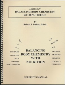 Balancing Body Chemistry with Nutrition- Student Manual_0001