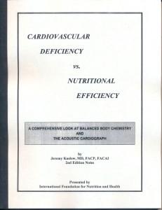 Cardio Deficiency vs. Nutritional Efficiency