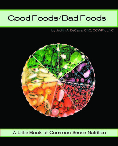 Front Cover_GoodBad Food'S