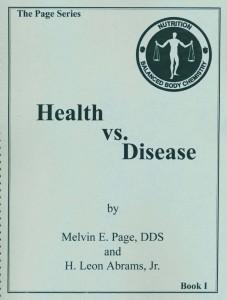 Health vs. Disease