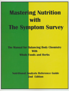Mastering Nutrition with symptom survey