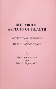 Metabolic Aspects of Health