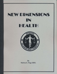 New Dimensions in Health