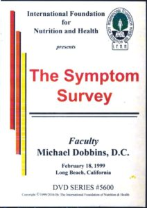 Mastering Nutrition with Symptom Survey DVD