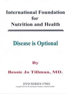 7002 Disease is Optional DVD