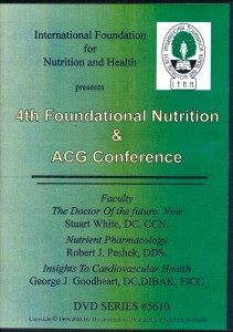 sku 5601 4th Annual Foundational Nutrition & ACG Conference DVD